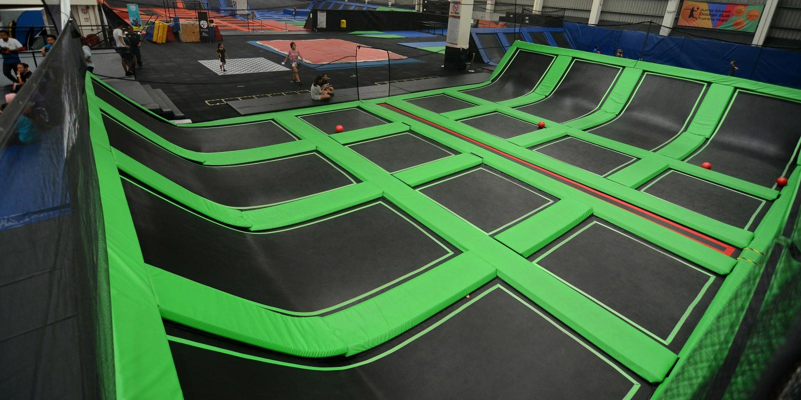 one of the top five indoor activities in Northern Virginia which is a trampoline park